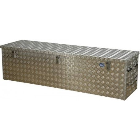 Riffelblechbox Alutec Aluminium 1896 x 525 x 520 mm