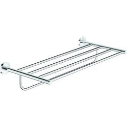Badetuchhalter Grohe Essentials mit Ablage 55 cm