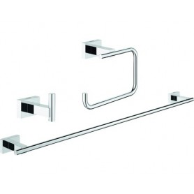 Bad-Set Grohe Essentials Cube Guest 3-teilig