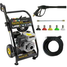 Hochdruckreiniger Lavor Pro Thermic 6,5 Mit Benzinmotor 196 Ccm - 180 Bar