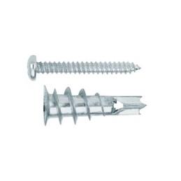 Gipskartondübel. Dübel aus Zinkdruckguss mit Schraube DIN 7981 4,2 x 32