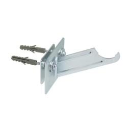 Halterungen für Aluminium-Heizkörper. Wandhalterung für die Marke Roca