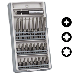 Bosch 25-teilige Extra Hard-Mini X-Line-Schrauberbit-Sets