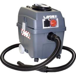 Lavor Pro Worker Em 0.052.0004 Nass-/Trockensauger 1400 W 27 L Staubklasse M Zertifiziert, Automatische Filterreinigun