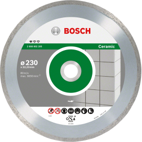 Bosch Standard for Ceramic Segm.