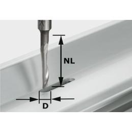 Aluminiumfräser HS S8