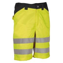 Arbeits-Shorts (Reflektierend) MIRANTE Warngelb