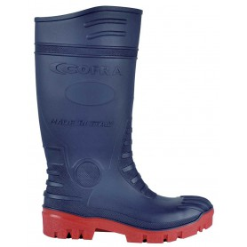 Arbeits-Stiefel TYPHOON BLUE/RED S5 SRC