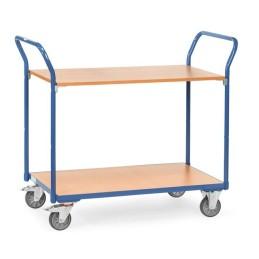 Fetra Tischwagen mit beidseitig hochstehenden Griffen