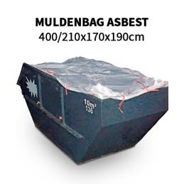 Muldenbag Asbest 400/210x170x190cm PACK(5,10,30,50,100,1000stk)