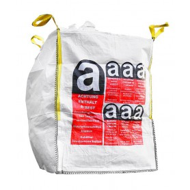 Standard Big Bag Asbest 90x90x110cm PACK(5,10,30,50,100,1000stk)