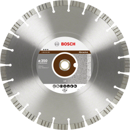 Bosch Diamanttrennscheiben Best for Abrasive Segm. 15 mm