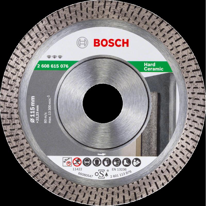 Bosch 2608602671 Best Universel Turbo Diamond Blade 115 mm x 22 mm alésage
