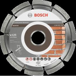 Bosch Diamanttrennscheiben Expert for Mortar Segm. 7 mm