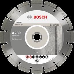 Bosch Diamanttrennscheiben Standard for Concrete Segm. 10 mm
