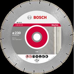 Bosch Diamanttrennscheiben Standard for Marble Segm. 3 mm