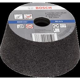 Bosch Konische Schleiftöpfe für Metall