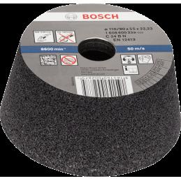 Bosch Konische Schleiftöpfe für Stein