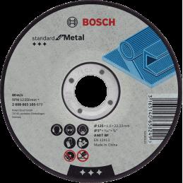 Bosch Trennscheiben Standard for Metal 100'er pack