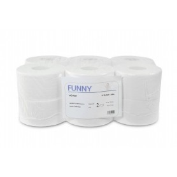 Funny Jumbo-Toilettenpapier 12 Rollen,2-lagig