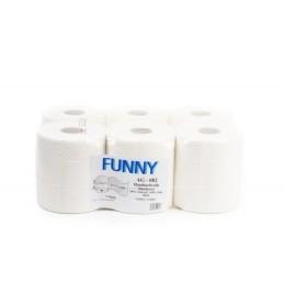 Funny Papierhandtuchrollen 6 Rollen,1-lagig