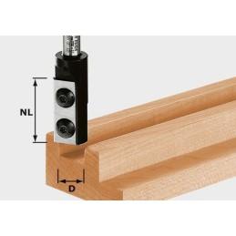 Nutfräser-Wendeplatten HW S8