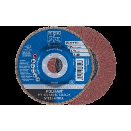 POLIFAN-Fächerscheiben Leistungs-Linie SG A SG STEELOX Flache Ausführung PFF 10er pack