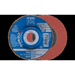 POLIFAN-Fächerscheiben Leistungs-Linie SG A-COOL SG INOX + ALU Konische Ausführung PFC 10er pack