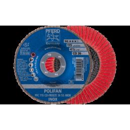 POLIFAN-Fächerscheiben Leistungs-Linie SG CO-FREEZE SG INOX Konische Ausführung PFC 10er pack