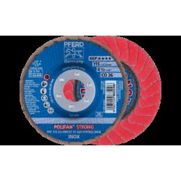 POLIFAN-Fächerscheiben Spezial-Linie SGP CO-FREEZE SGP STRONG INOX Konische Ausführung PFC 10er pack